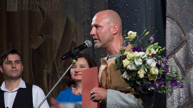 Український хореограф Раду Поклітару став народним артистом Молдови