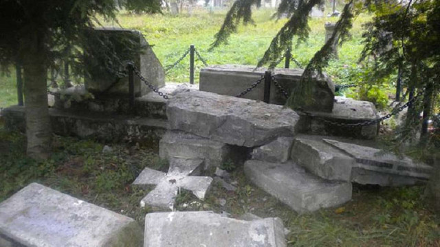 УІНП вимагає від влади Польщі покарати винних у знищенні українських пам'ятників