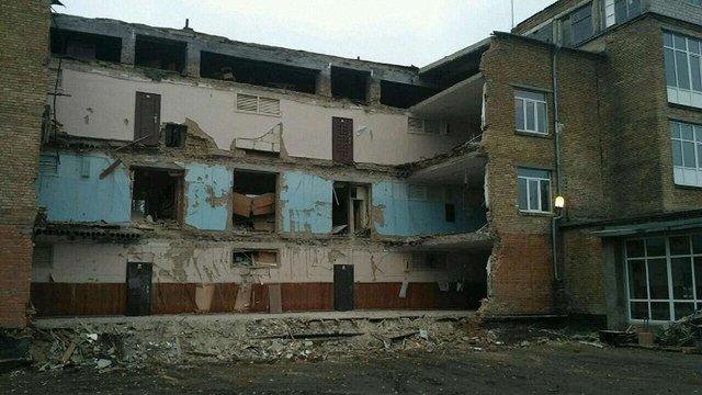 Заступник міністра освіти назвав одну з причин обвалу школи на Київщині