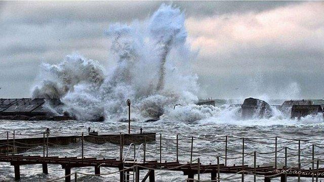 В Одеській області через шторм оголосили надзвичайний стан