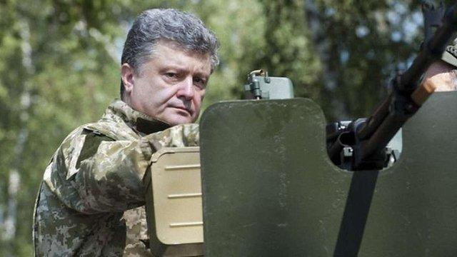 Україна не виконуватиме політичну частину «Мінська» без виведення військ РФ, – Порошенко