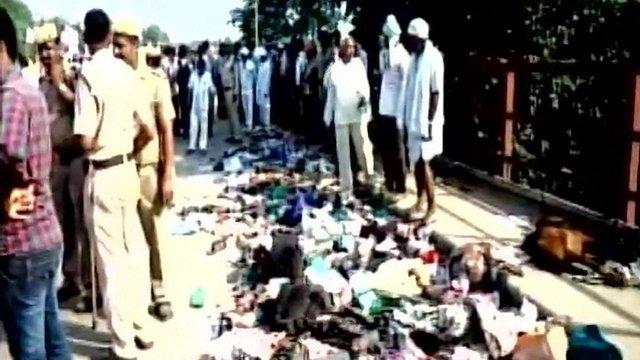 В Індії через тисняву на релігійному святі загинули 19 паломників