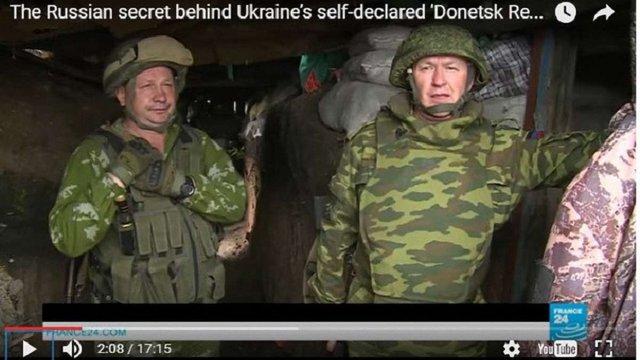 Французьке телебачення показало сюжет з доказами участі Росії у війні на Донбасі