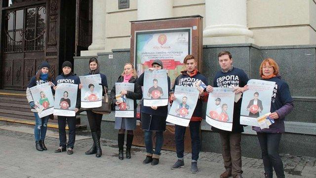 У Львові відбулась акція з попередження та протидії торгівлі людьми