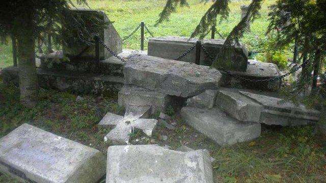 Польські громадські організації засудили знищення пам'ятника воякам УПА у Верхраті