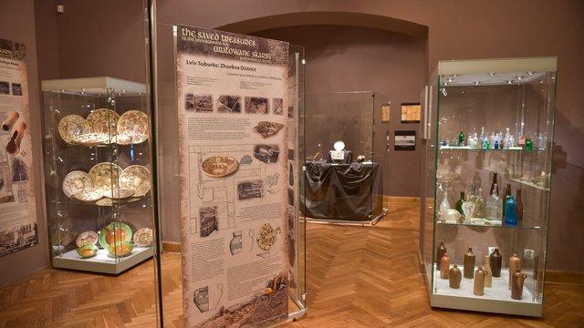 Археологи відкрили у Любліні виставку скарбів підземного Львова