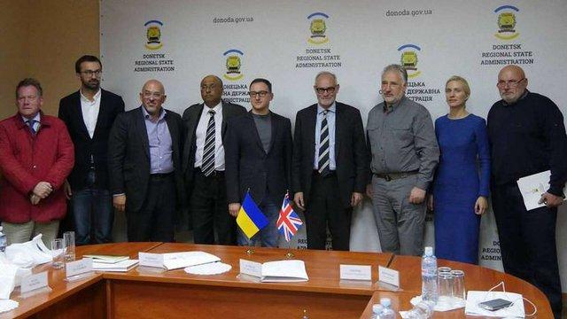 Донеччину відвідали представники комітету закордонних справ парламенту Великобританії