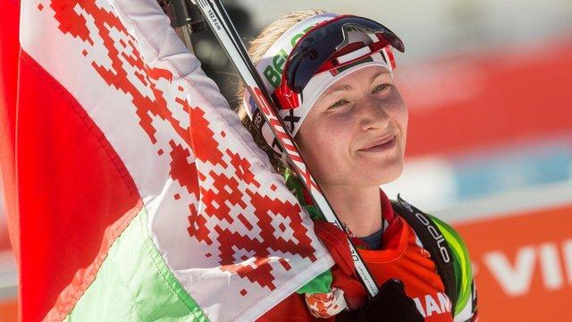 Чемпіонка  Дар'я Домрачева повернеться в біатлон  через кілька місяців після народження дитини