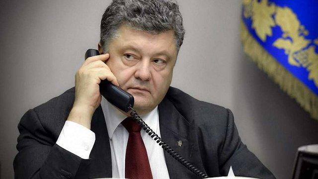 Порошенко закликав Швецію офіційно визнати факт російської агресії