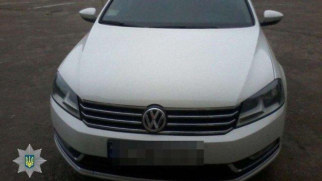 У львівському сервісному центрі МВС виявили крадений автомобіль