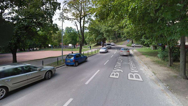 На вул. Винниченка в центрі Львова змінять схему руху транспорту