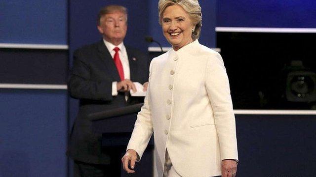 Клінтон перемогла Трампа у фінальних теледебатах