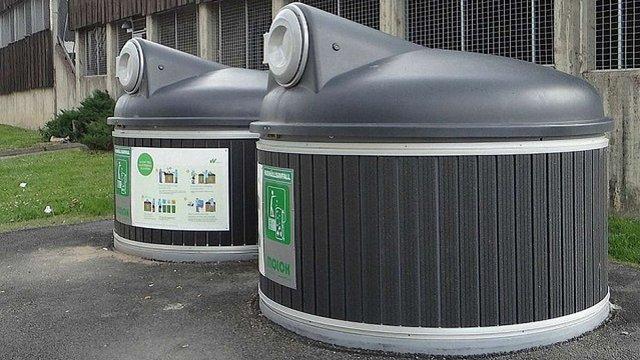 У центрі Львова встановлять сміттєві контейнери нового типу
