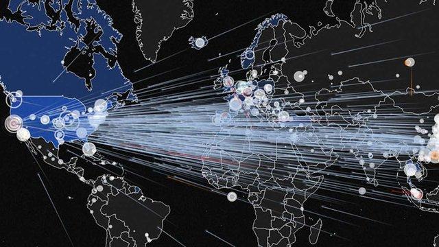 Невідомі хакери масово атакували Amazon, Netflix, PayPal, Ebay і Twitter