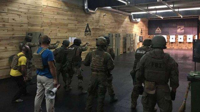 ФБР провело навчання для спецпризначенців НАБУ та Нацполіції