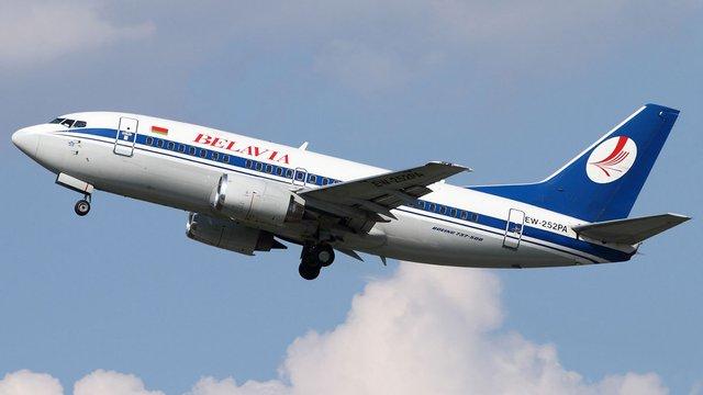 Білоруський літак повернули до Києва погрожуючи підняти у повітря винищувачі