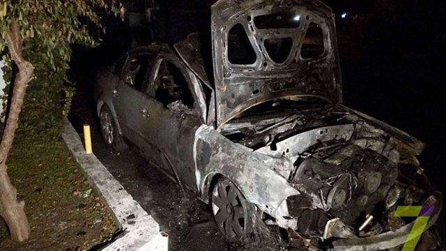 В Одесі вночі спалили автомобіль начальника податкової інспекції