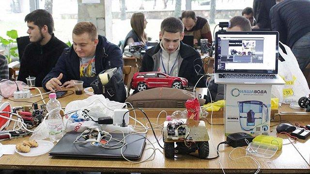 У «Львівській політехніці»пройшли всеукраїнські перегони роботів