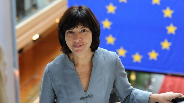 Лідер фракції «зелених» у Європарламенті оголосила про відставку
