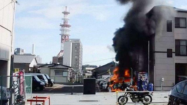 В Японії неподалік Токіо прогриміли кілька вибухів