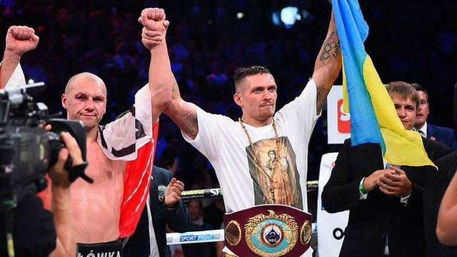 Олександр Усик став боксером року за версією WBO