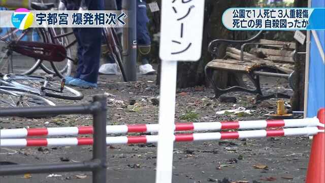 Вибухи у японському парку неподалік Токіо вчинив пенсіонер-самогубець