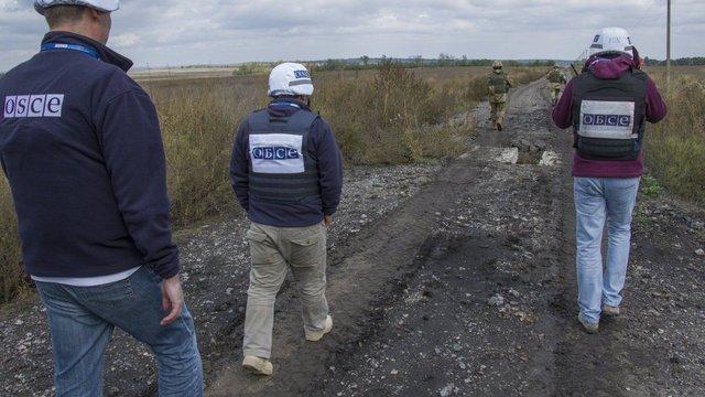 Спостерігачі ОБСЄ поскаржилися на чергові перешкоди для моніторингової місії на Донбасі
