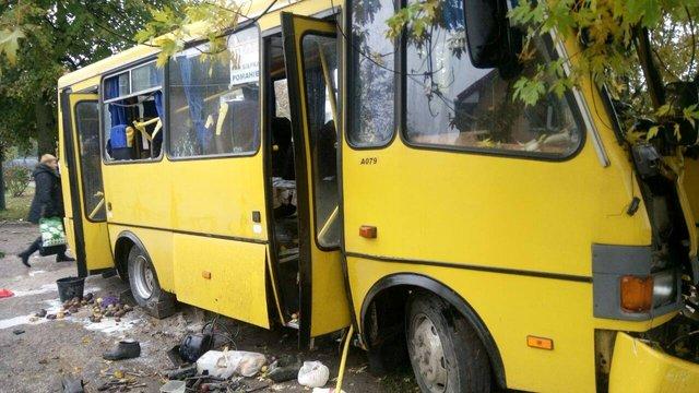 П'ятеро постраждалих у ДТП з маршруткою перебувають у важкому стані
