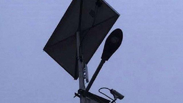 У селі під Львовом облаштували енергоощадне вуличне освітлення та відеоспостереження