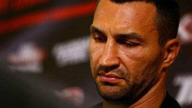 Володимир Кличко травмувався і не зможе вийти на ринг до кінця року