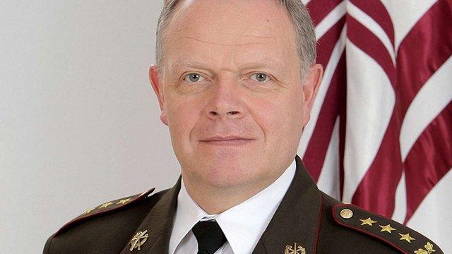 Командувач латвійської армії достроково подав у відставку