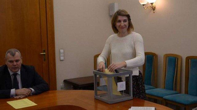 Тележурналістка очолила кадрову комісію Національної поліції Львівщини