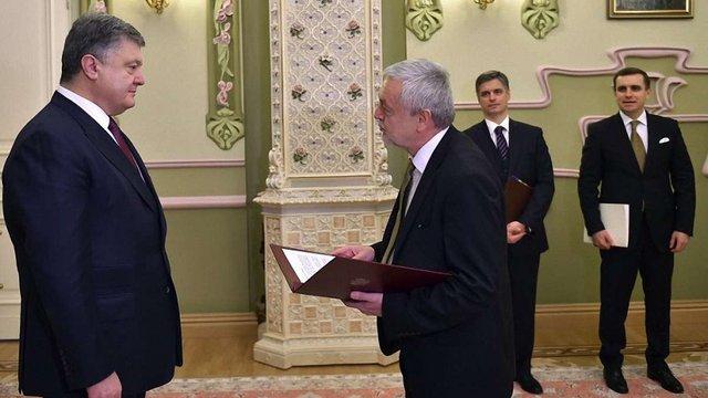 Порошенко прийняв вірчі грамоти від послів Польщі, Іраку та Азербайджану