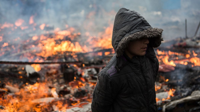 У Франції ліквідували стихійний табір біженців поблизу Кале