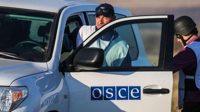 ОБСЄ задокументувала перекидання на Донбас з Росії зброї і військових