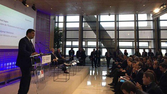Гройсман закликав французьких бізнесменів допомогти вирішити проблему сміттєзвалищ в Україні