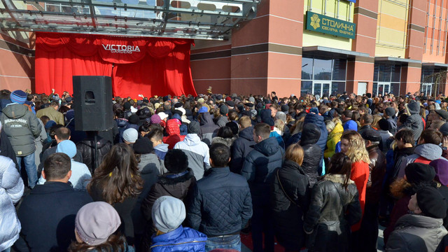 Фоторепортаж з відкриття найбільшого у Львові ТРЦ «Victoria Gardens»