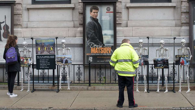 У Бостоні та Нью-Йорку відбулись акції протесту проти виступу російського піаніста Мацуєва