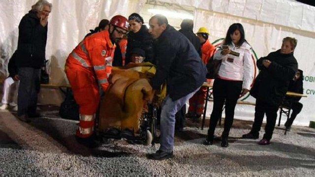 У центральній частині Італії зафіксували 114 підземних поштовхів за ніч