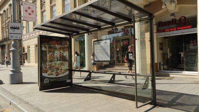 На площі Митній у Львові встановлять павільйон на зупинці громадського транспорту