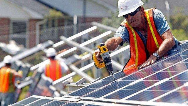 В Україні подвоїлася кількість приватних будинків з сонячними батареями