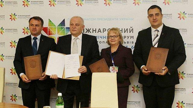 Синютка і Ганущин підписали меморандум з «Львівським товариством»