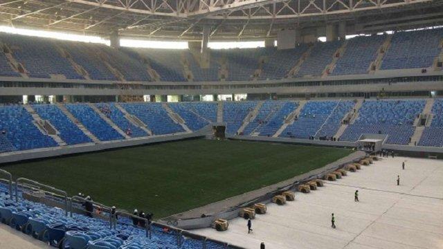 ФІФА відмовилась проводити матчі ЧС-2018 на полі «Зеніт-Арени»