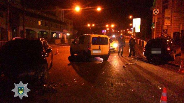 П'яний водій заїхав на місце оформлення ДТП у Львові
