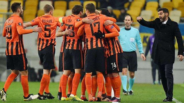 Донецький «Шахтар» вийшов у плей-офф Ліги Європи