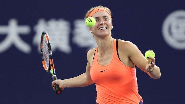 Українська тенісистка Еліна Світоліна вийшла у фінал WTA Elite Trophy