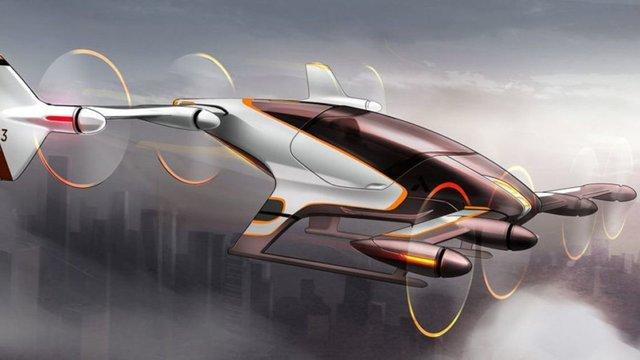 В 2020 році Airbus запустить виробництво літаючих безпілотних таксі з електродвигунами