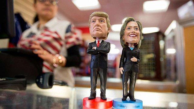 Розрив між основними кандидатами у президенти США скоротився до 4-5%