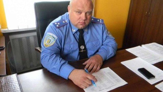 Затриманого на хабарі начальника Франківського відділу поліції Львова суд поновив на посаді