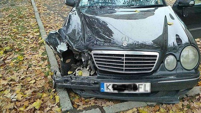 П'яний водій протаранив біля автовокзалу у Львові три автівки і втік з місця ДТП
